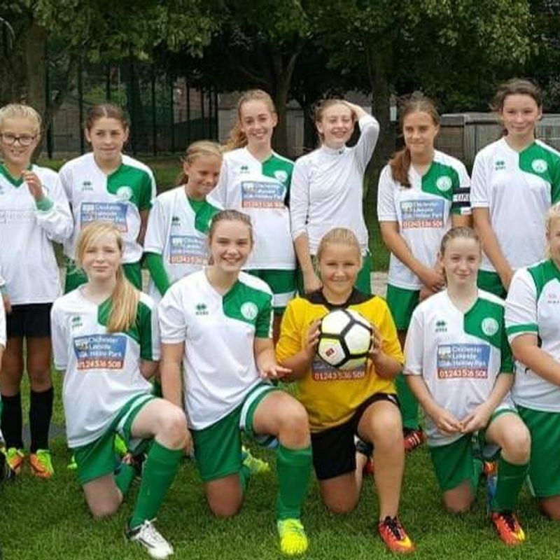 U13s Green beat Eastbourne Borough Youth U13s 6 - 2