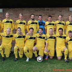 Bookham FC2013/14 Team Photos and warm up.