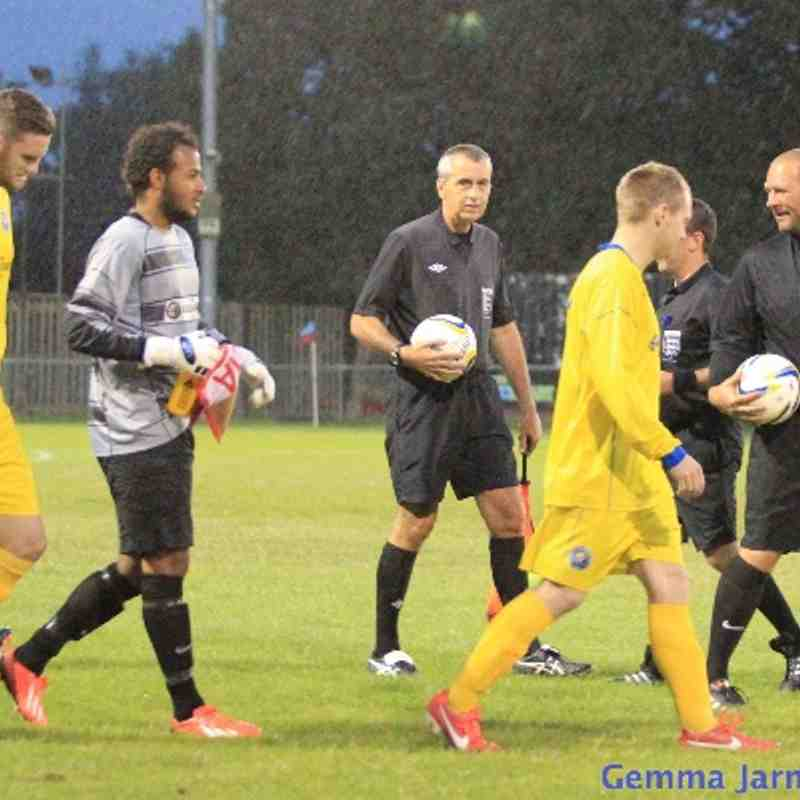 Epsom & Ewell FC v Horley Town FC 2013/14 (Away) League Cup