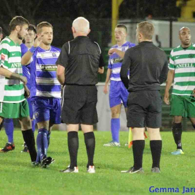 Epsom & Ewell FC v Chipstead FC. Southern Combination Cup 2nd Round 2013/14 (Home)