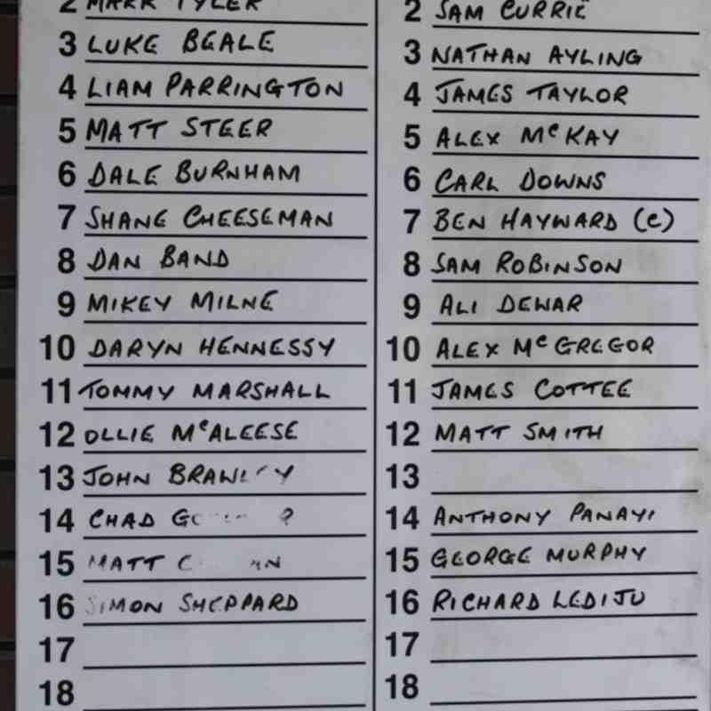 Epsom & Ewell FC v Westfield FC 2013/14 (Away)