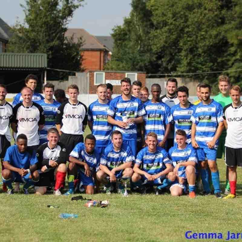 Epsom & Ewell FC v Horsham YMCA FC Dave Wilson Memorial Trophy 2014/15
