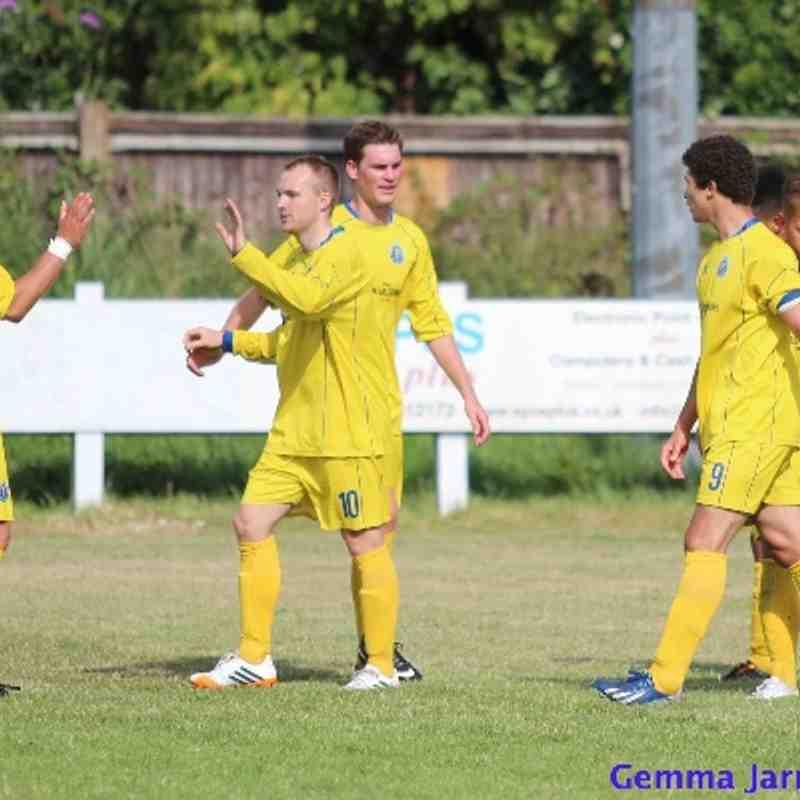 Epsom & Ewell FC v Farnham Town FC (Away) 2014/15