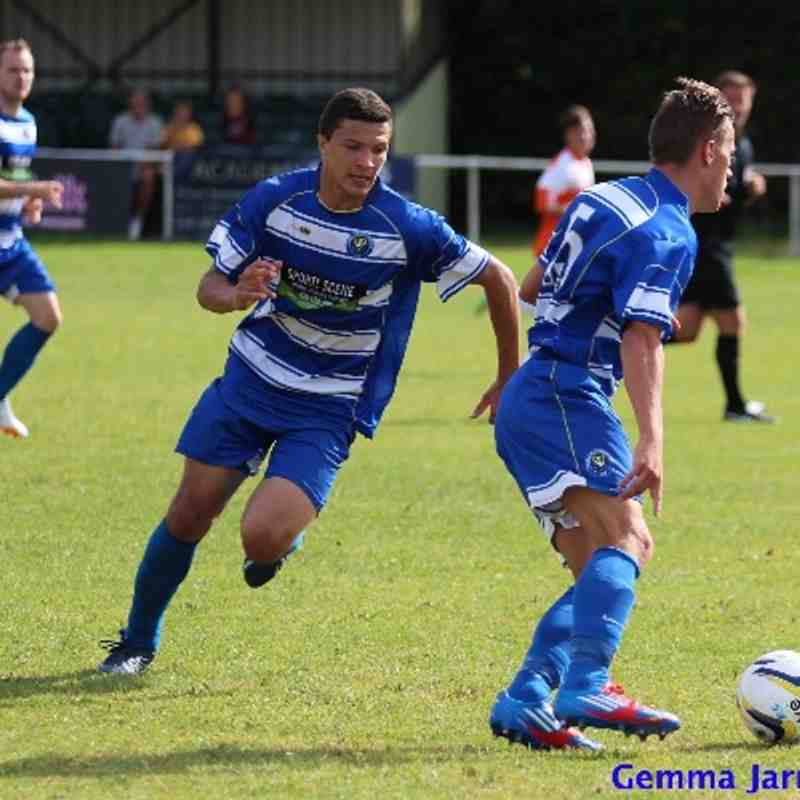 Epsom & Ewell FC v Hartley Wintney FC (Away) 2014/15