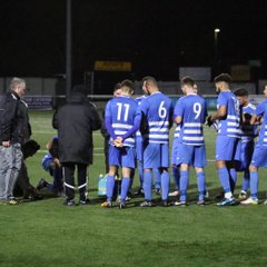 Epsom & Ewell FC v Sutton Common Rovers FC Surrey Snr Cup 2nd Rd 2017/18 (A)