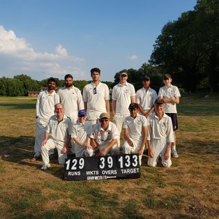 Ricky 4ths youngsters win thriller by 4 runs in penultimate over