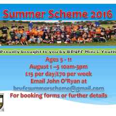 Summer scheme 2015