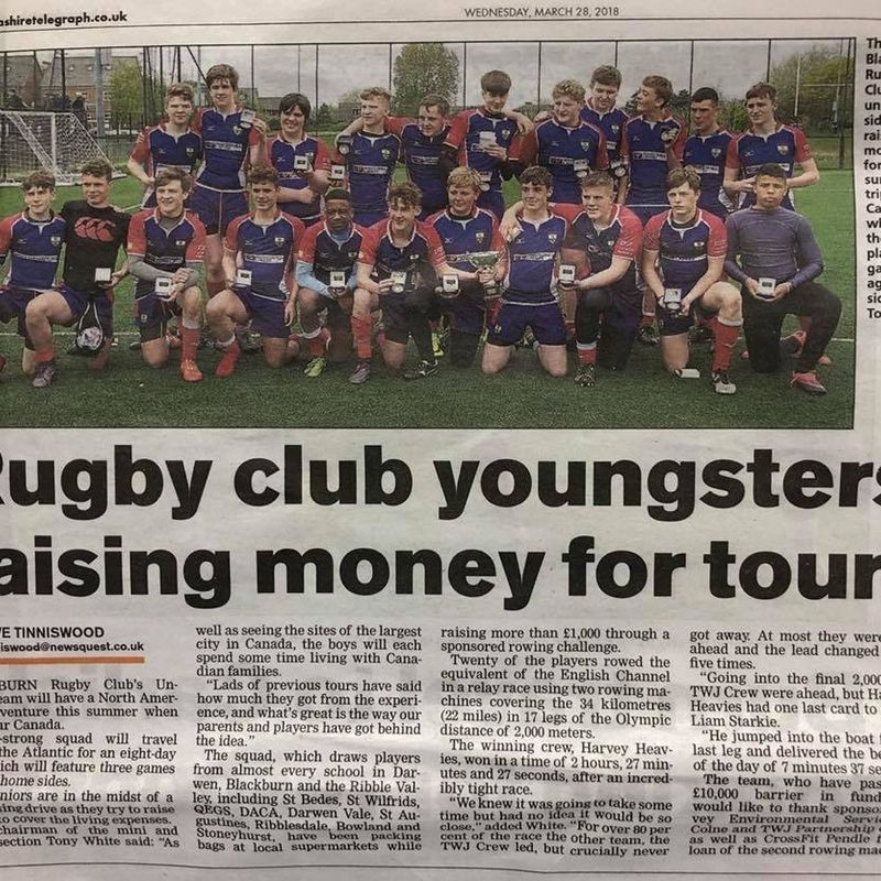 U16's hit the papers