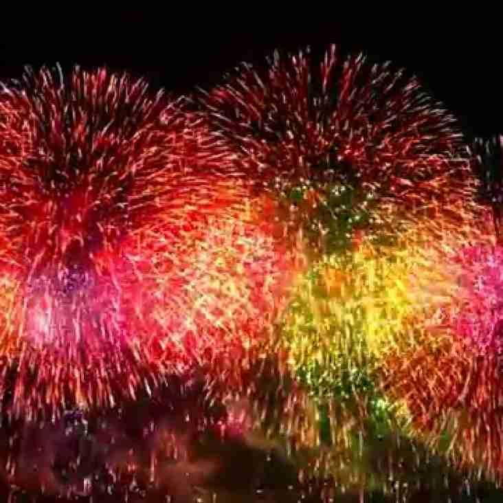 Fireworks rescheduled