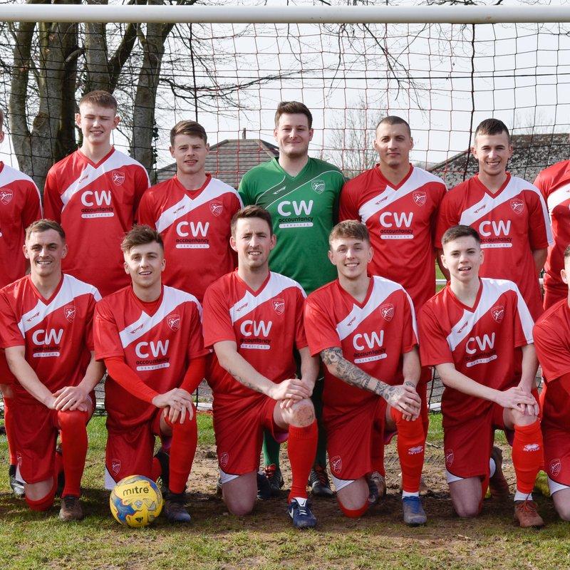 First Team beat Clutton FC 0 - 9