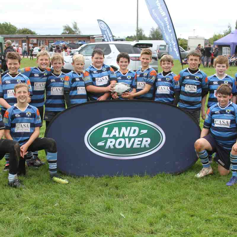 Topsham U12's Landrover Cup v Penzance & Newlyn