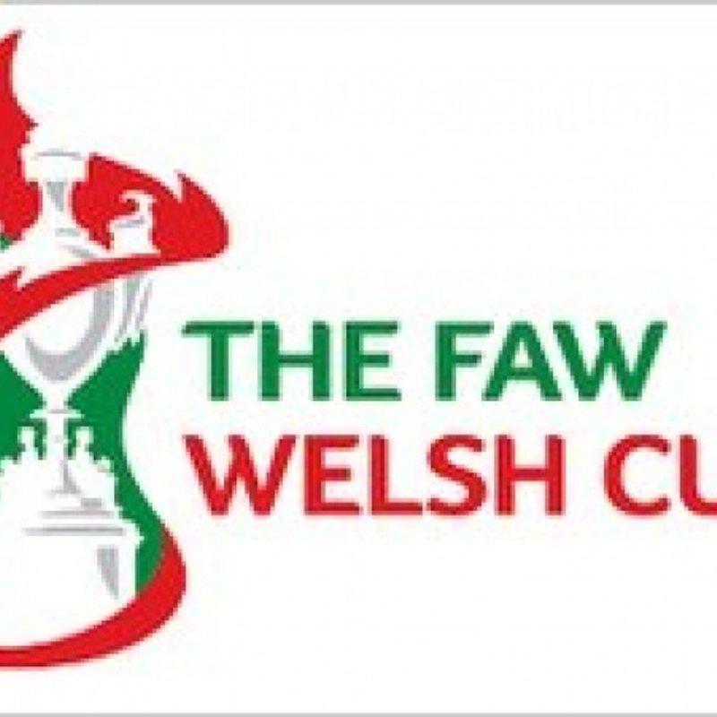 Away Tie for Spamen in Welsh Cup
