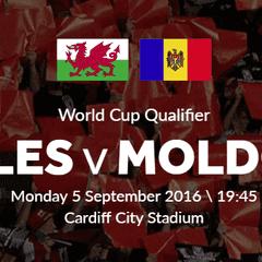 Wales v Moldova Tickets Reminder!!