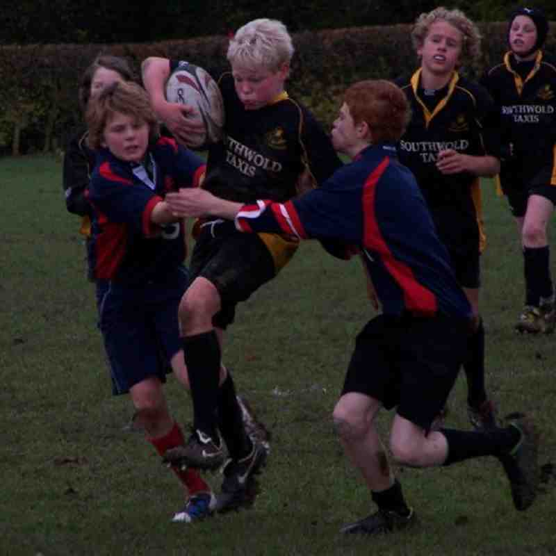 U13's Away to Stowmarket - 21-11-10