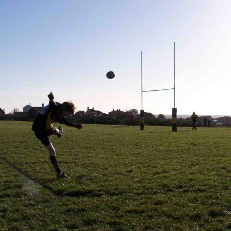 U14's Home to Wymondham - 9th January, 2011 - Result 50-0