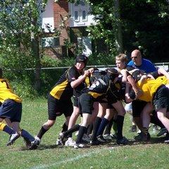 U14's Away at Swaffham - 1st May, 2011