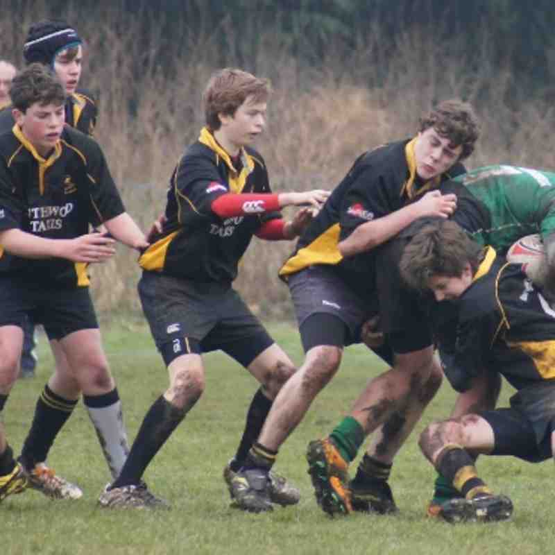 U15's Away to Beccles - 17th February, 2013