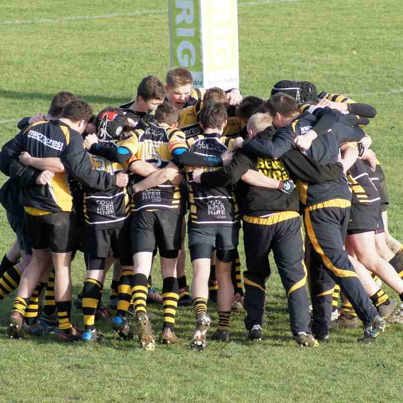 Colts Away to Cambridge - 11th January, 2015