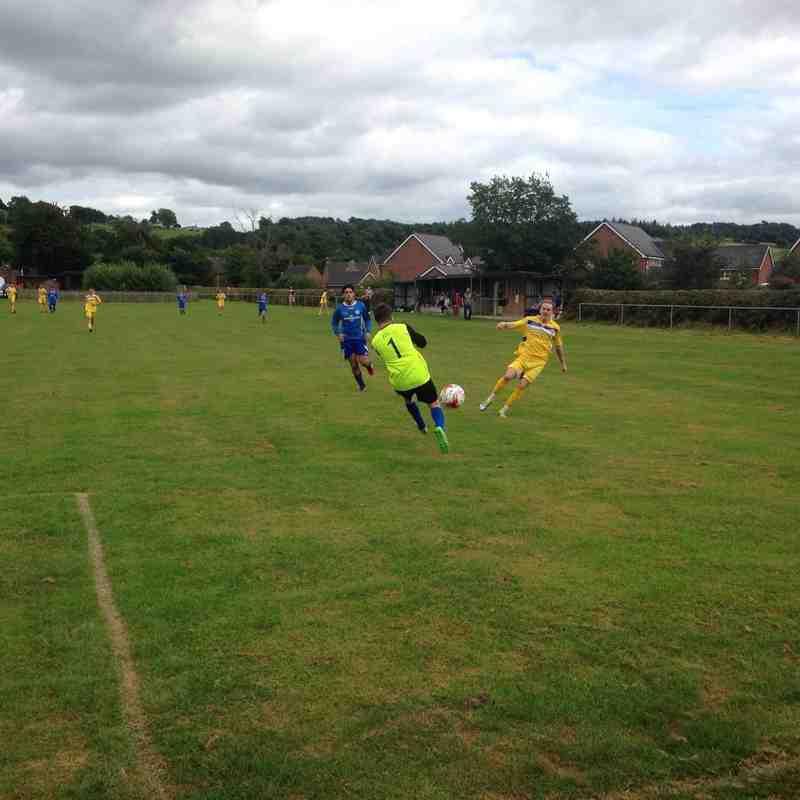 Abermule FC v Penybont - Sat 13 Aug 2016