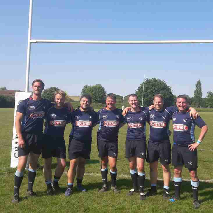 Combe Vets help Kent to runners-up in the London Vets County Championship