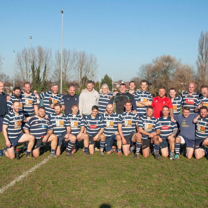 Spitfire Gold Kent Vets Cup Final- Combe Vs Thanet  KO 4pm @ Maidstone RFC