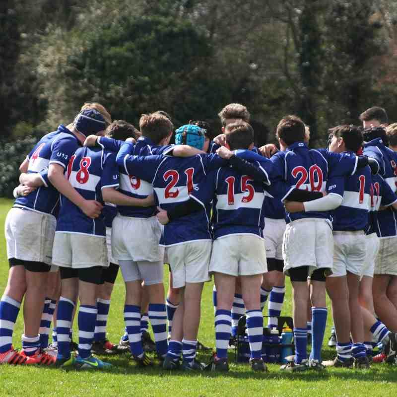 BSRFC U13 vs Wymondham April 12th 2015