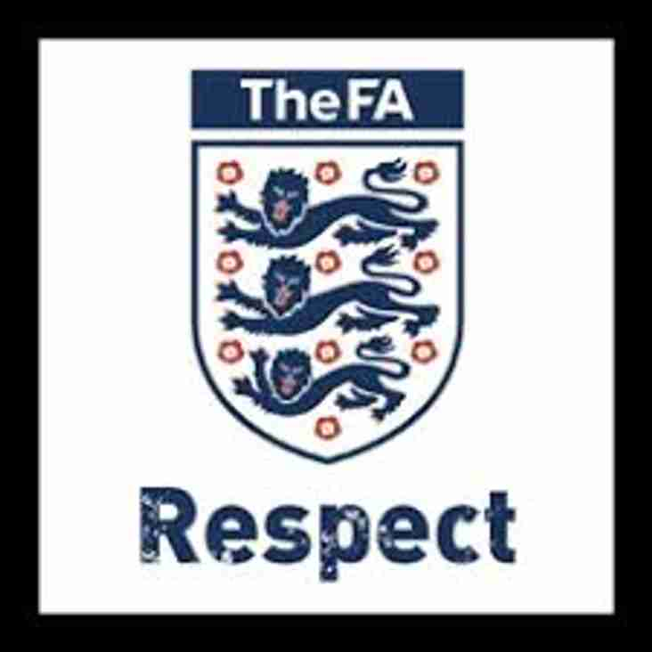 Thames Hosts Football Respect Event - Saturday 17th February 2018