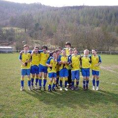 The Under 14 Team ~ 2011-2012