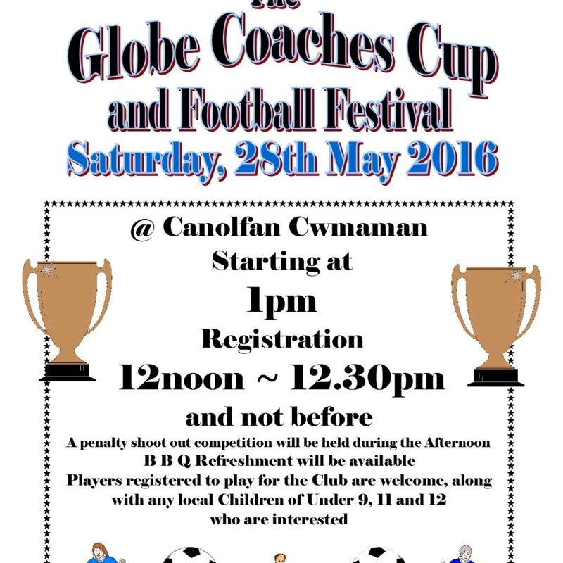Globe Coaches Cup ~ 2016