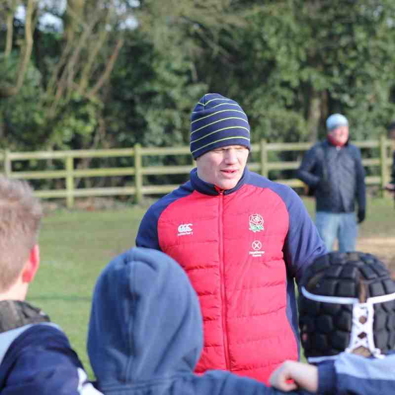 John Brake Coaches at BSRFC