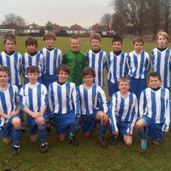 Brighton & Hove Schools U12 Rep Squad