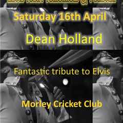Elvis is in the building (or he will be)....