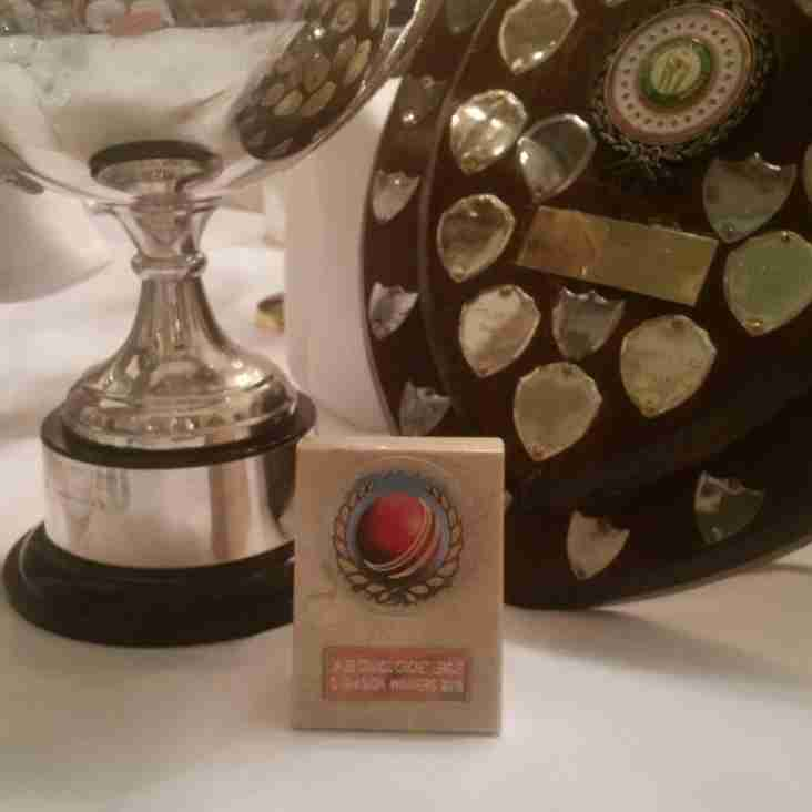 3rds collect the league trophy