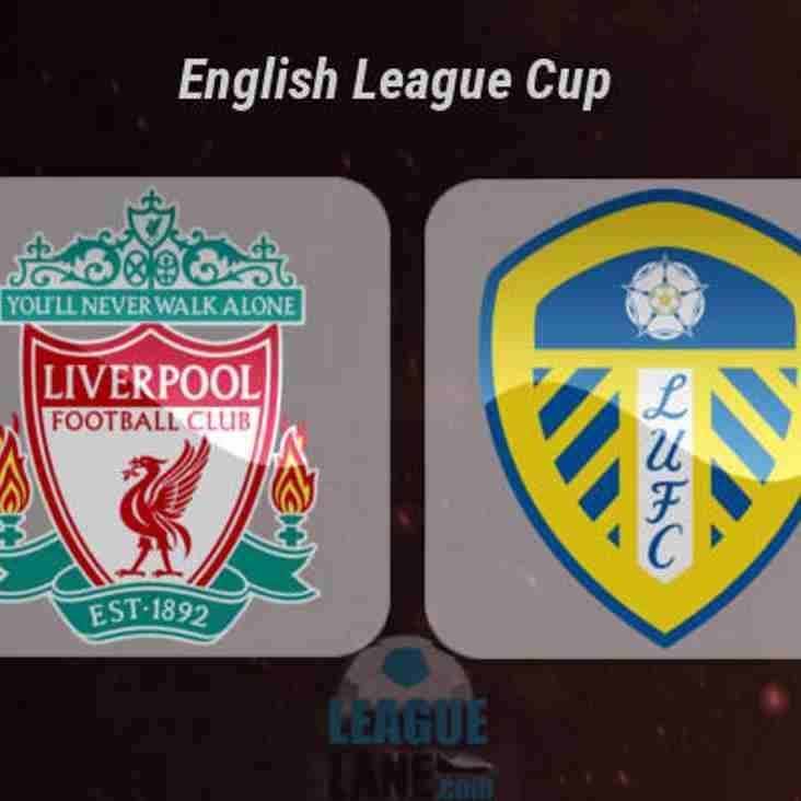 Leeds United on the big screen tomorrow at Morley CC