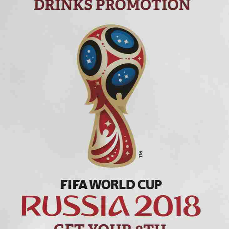 Free drinks during the World Cup