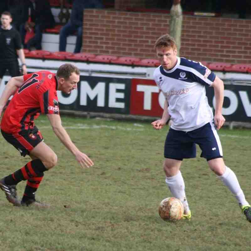 1st Team v Bedford Town - 5th March 2016