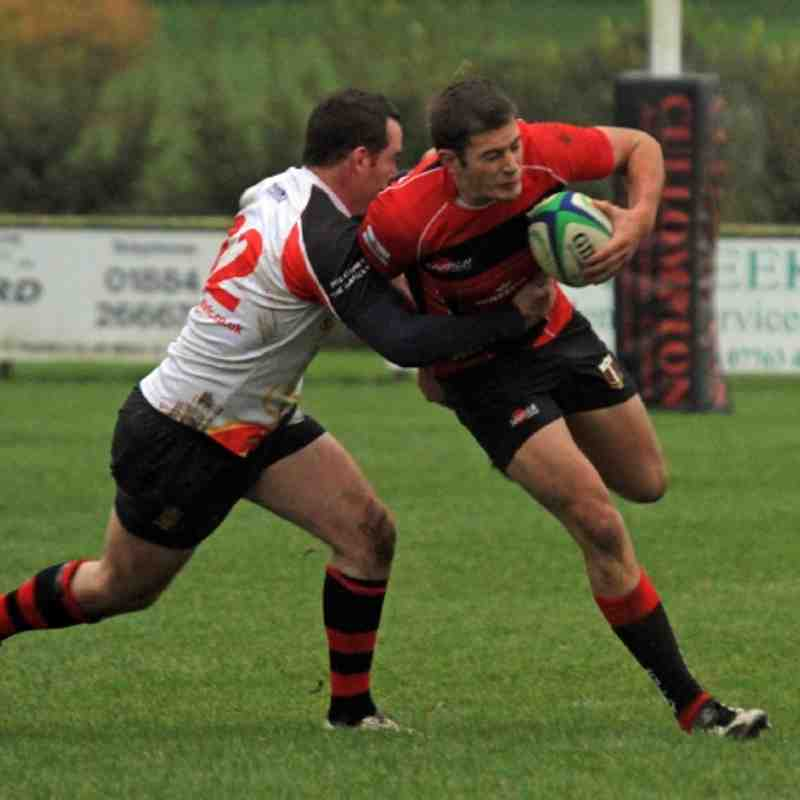 Cullompton 1st XV v Avonmouth Old Boys RFC 29 October 2011