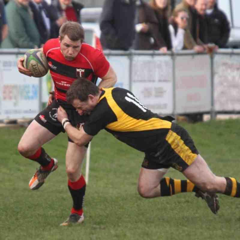 Cullompton 1st XV v Berry Hill RFC 10 March 2012