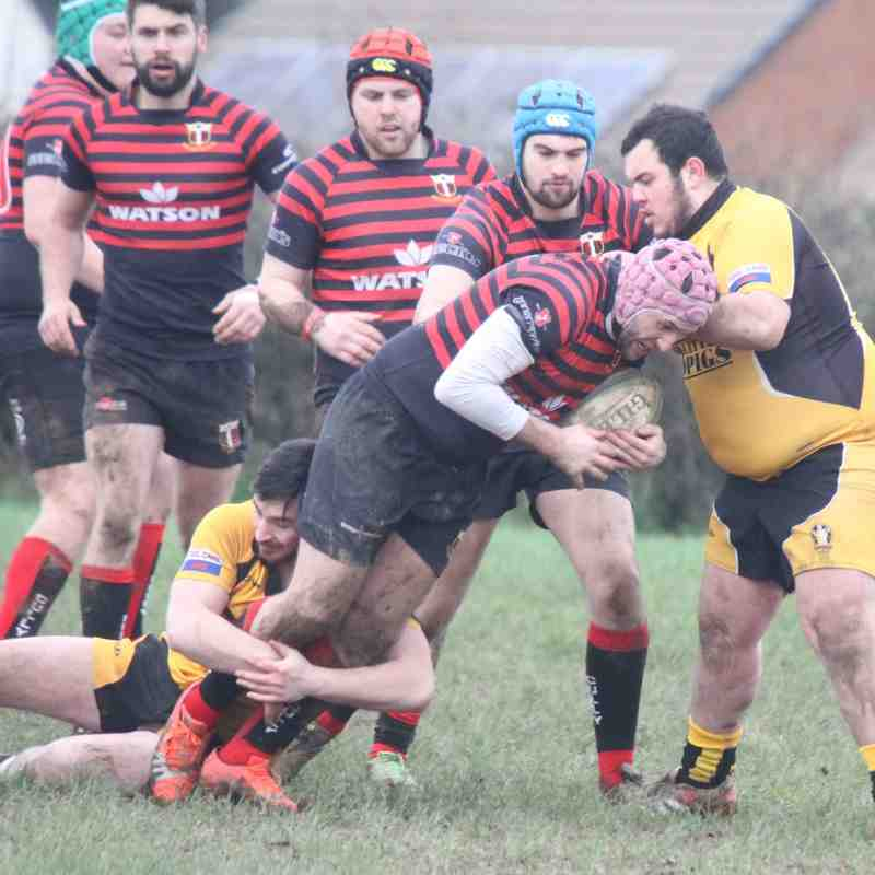Cullompton 2nd's v Crediton 2nd's - Another Cully win