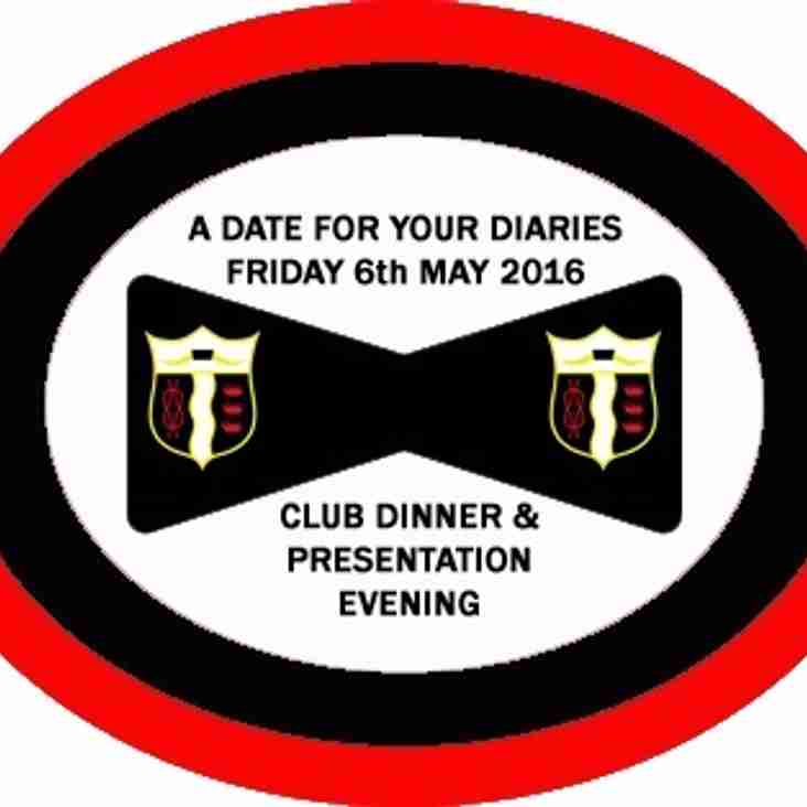 Club Dinner & Presentation Evening