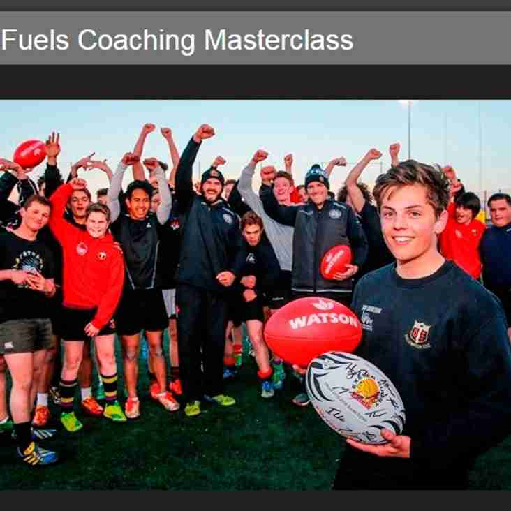 Under 16's undergo Masterclass at Exeter Chiefs