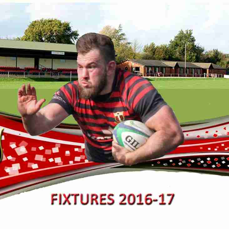 1st XV 2016-17 Fixtures Announced