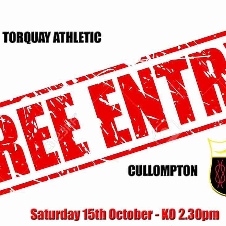 FREE ENTRY - NEXT SATURDAY