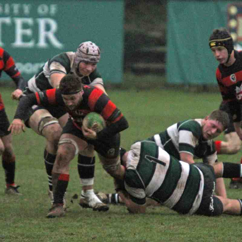 Exeter University v Cullompton (21/01/17)
