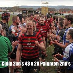 Cullompton 2nd's v Paignton 2nd's
