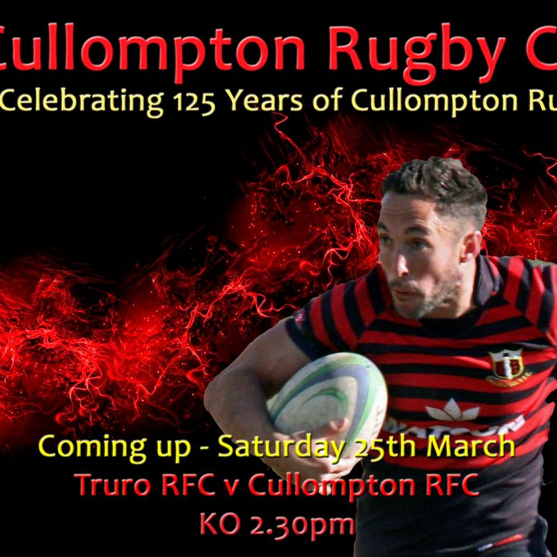 ARE YOU GOING TO TRURO ON SATURDAY?