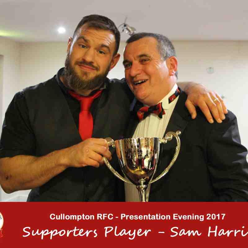 Cullompton RFC Presentation Evening 2017 - The Winners