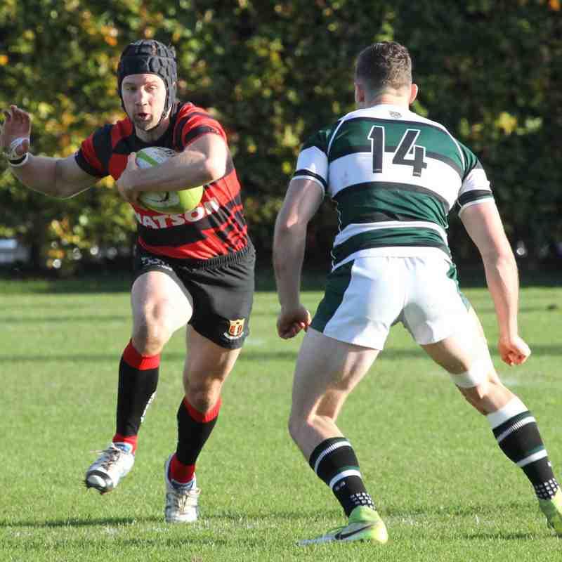 Exeter University 36 v 33 Cullompton RFC (4/11/17)