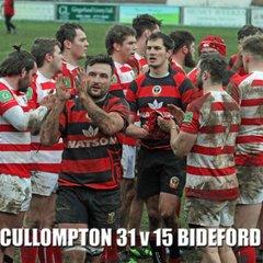Cullompton RFC v Bideford RFC (13/01/18)