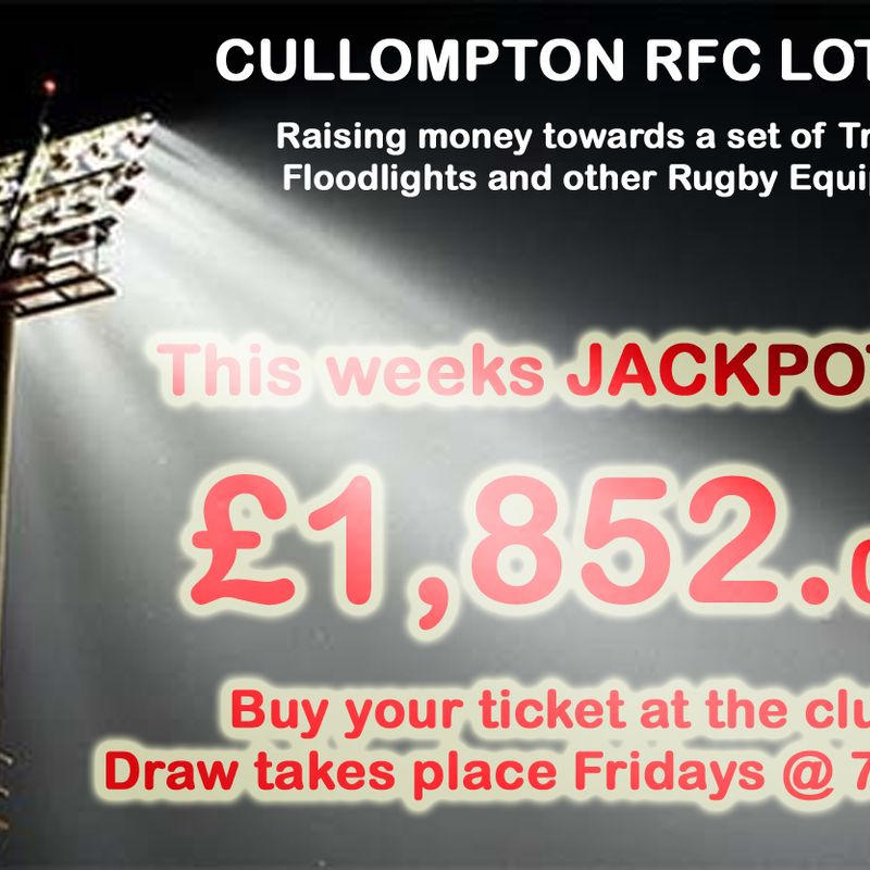 CULLOMPTON RFC - CLUB LOTTERY